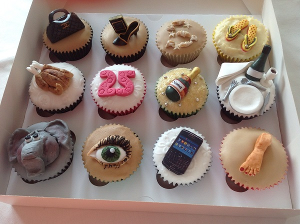 Birthday Party Cakes And Cupcakes Personalised With