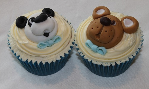 Teddy bears cupcakes